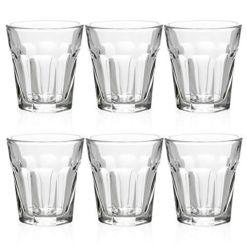 Vasos de chupito de 45 ml para fiestas, bodas y cenas, de 6, 12 o 24 Set of 6