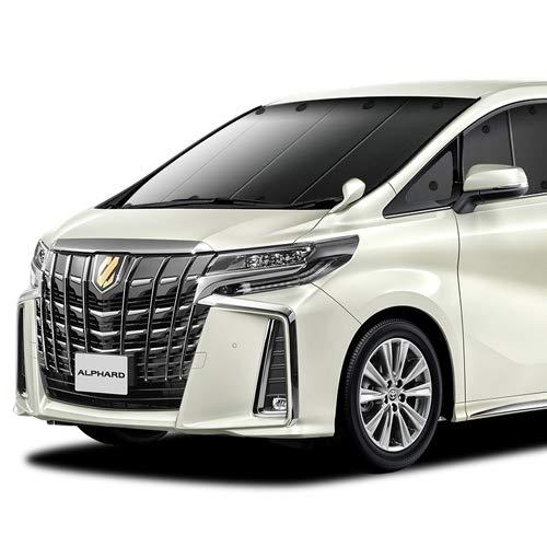 『01s-a010-fu 日本製 アルファード ヴェルファイア 30系 用カーテンいらずプライバシーサンシェード フロ...