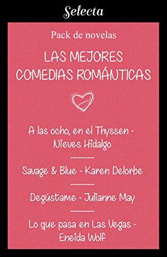 Mejores comedias románticas (Pack con: A las ocho, en el Thyssen | Savage & Blue | Degústame | Lo que pasa en Las Vegas)