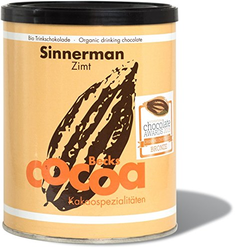 Becks Cocoa Trinkschokolade Sinnerman Zimt Dose 250 g
