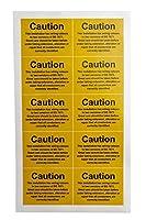 RS PRO 危険警告ラベル 10個入7760973