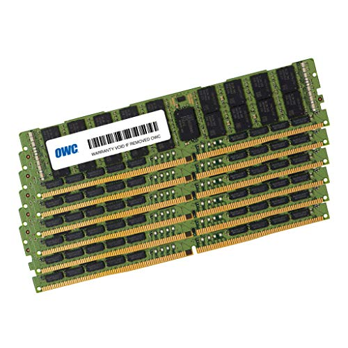 OWC Matched Memory Upgrade 2666MHz PC21300 DDR4 LRDIMM (Load Reduced) for Mac Pro Late 2019 (8 Core) (384GB (6 x 64GB))