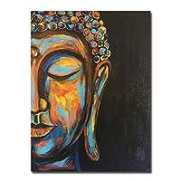 """キャンバスに印刷現代の仏キャンバス絵画壁アート写真ポスターとプリント北欧のリビングルームの寝室の家の装飾60x90cm / 23.6"""" x35.4""""フレームなし"""