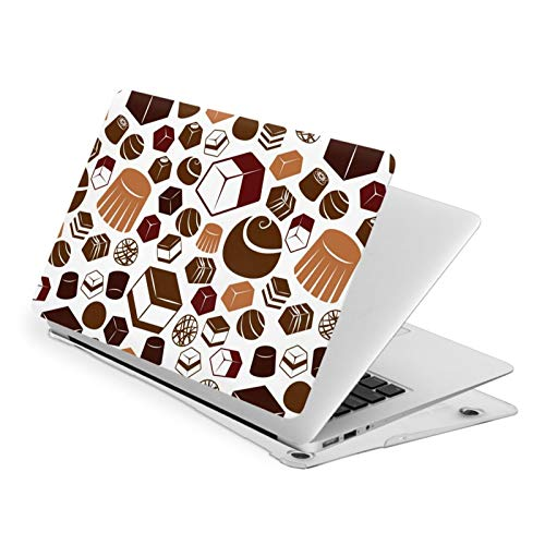 MacBook Pro 15 Inch Case Sweet Chocolate Hard Laptop Shell Case Cute Protective Laptop Cover
