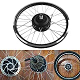 """Kit motore elettrico per bici elettrica, motore 36V/48V 350W KT900S Display a LED Kit di conversione per bici elettrica da 20 """"Kit di conversione per motore per bicicletta(Motore posteriore A.)"""