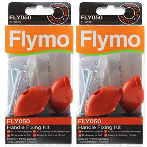 Flymo RE320 RE330 Rasenmäher Griff Montagekit (Pack von 2-Kits, FLY050)