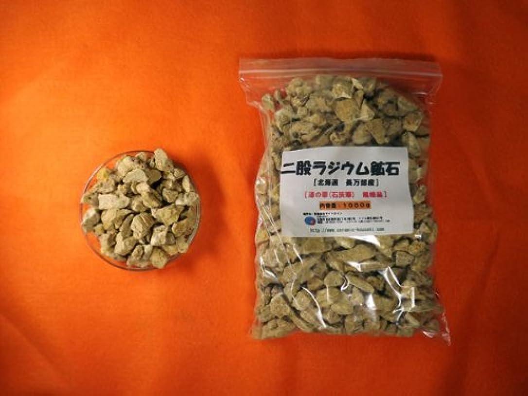 ファックス抜本的な抗生物質二股ラジウム鉱石 湯の華 [北海道 長万部産]1000g