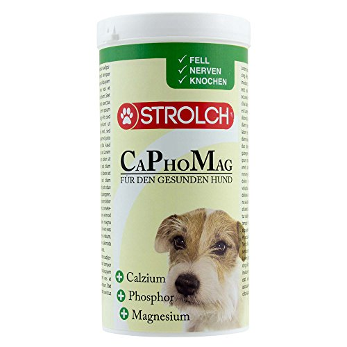 Strolch CaPhoMag 400 g Mineralstoffmischung für Hunde mit Magnesium sowie Calcium und Phosphor im Idealverhältnis