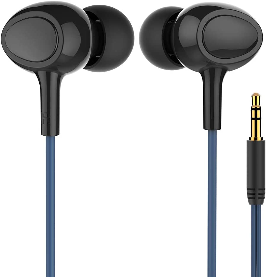 Walkercam, Underwater Swimming Headphones IPX7 Waterproof Earbuds for Swimming with 60cm Extension Cable and 6 Earplugs
