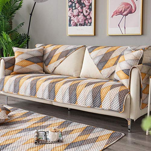 Hybad - Funda protectora universal para sofá cama de algodón Hybad, B, 90*240cm
