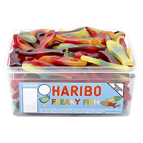Haribo Freaky Fisch - 1022g - ungefaehr 120 Stk