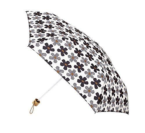 Paraguas Vogue Estampado. Colección Natural World. Puño Madera. Paraguas Plegable. Antiviento, Filtro...