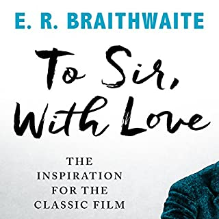 To Sir, with Love audiobook cover art
