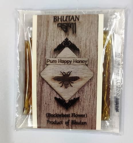 ブータン産はちみつ Pure Happy Honey BUCKWHEAT(ピンクのそばの花)スティック (5g×10袋)