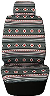 Nu Trendz Southwest Design/Navajo Print Car Seat Cover Set (Grey)