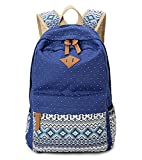 DNFC School Bags for Girls Boys Teenager Canvas Backpack Rucksack Fashion Daypack Sports