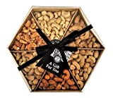 The Ludlow Nut Company Cashew Wheel - Assorted Cashew Nut Gift Set, 520 Gram