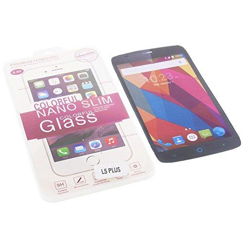 foto-kontor Bildschirmschutzglas für ZTE Blade L5 Plus Schutzfolie Bildschirm Schutz echte Glasfolie