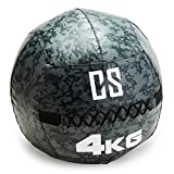 Capital Sports Restricamo - Medizinball, Wall Ball, Fitness Ball, Krafttraining, Ausdauertraining, Functional Training, feuchtigkeitsresistent, Studio Qualität, Camouflage, Gewicht: 4 kg