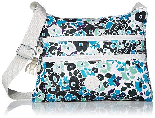 Kipling Damen Bag Alvar, Crossbody-Tasche, Blue Field Floral, Einheitsgröße