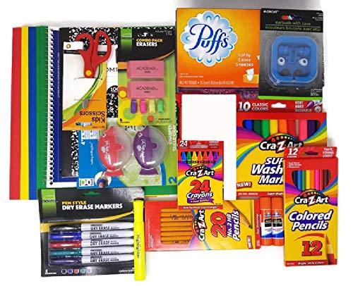 Back to School Supplies Bundle for Pre-K, Kindergarten, 1st Grade, 2nd Grade, 3rd Grade