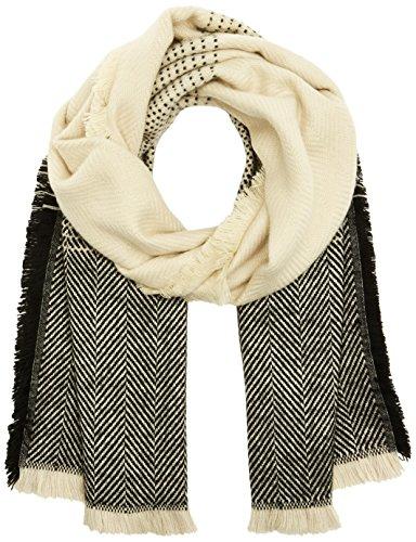 ICHI Dames A FELINA SC sjaal, meerkleurig (black 10011), One Size