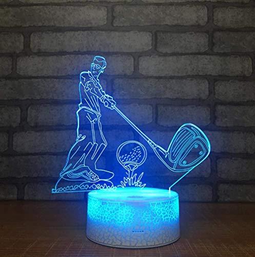 Regalo creativo 3D pequeñas luces de noche para el hogar inteligente, luces de Navidad, regalo para habitación de bebé, venta al por mayor