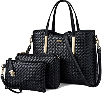 Tibes Fashion Pu Leather Handbag