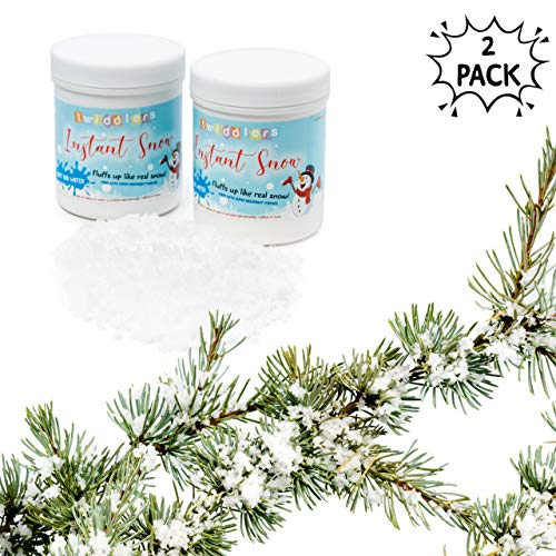 Nieve falsa - Ideal para exhibiciones navideñas, decoración, eventos y fiestas -...