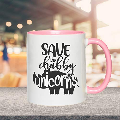 Tasse Nashorn Save the chubby unicorns