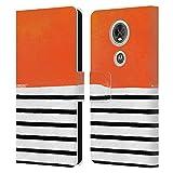 Head Case Designs sous Licence Officielle Ninola Orange de Memphis Rayures Coque en Cuir à...