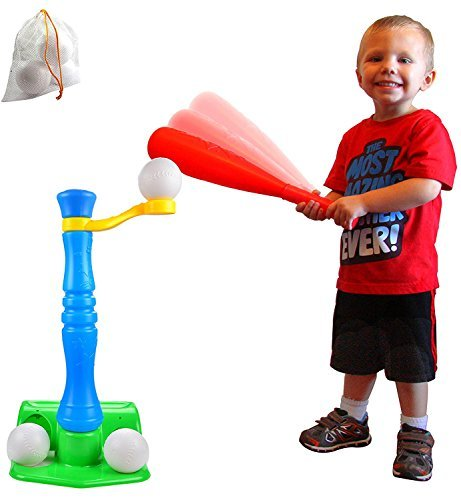 Joyin Toy Kid Baseball T-Ball Set Come with 3 Balls