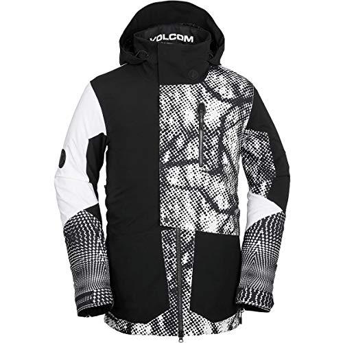 (ボルコム) Volcom BL Stretch Gore Hooded Jacket メンズ スノーボード ウェア ジャケットBlack/White [並...