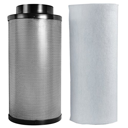Great Deal! Penck 8 inch Air Carbon Filter Odor Control Australia Premium RC-48 Virgin Coconut Activ...