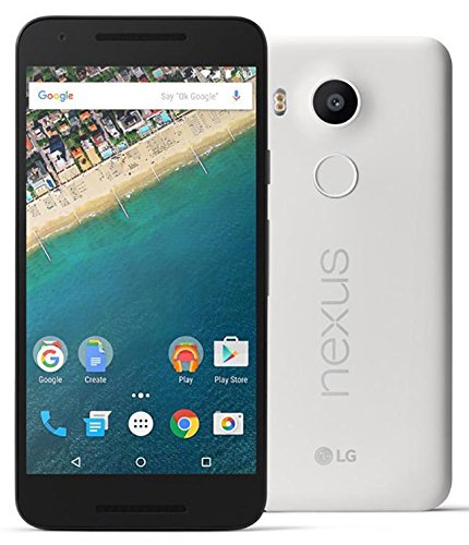 LG Nexus 5x H790-4G LTE GSM Factory Unlocked Smartphone - 16GB Quartz (White) - US Warranty