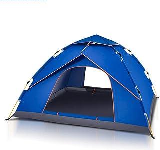 DorisAA camping tält enkel inställning 4-5 personer vattentätt campingtält utomhus automatisk omedelbar pop up vindtät tak...
