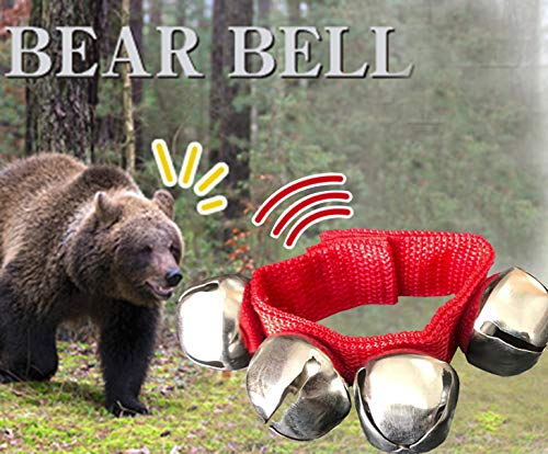 Deco2pro Bear Bell with Magnetic Silencer for Camping