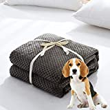 <span class='highlight'><span class='highlight'>ITODA</span></span> Premium Fluffy Flannel Dog Blanket Soft Breathable Washable Pet Carrier Pad Cute Warm Beds Cover Doghouse Pad Durable Pet Throw for Dog Puppy Cats Kittens (70x100cm)