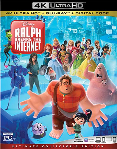 RALPH BREAKS THE INTERNET [Blu-ray]