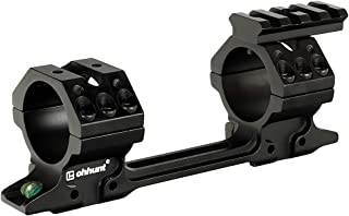 ohhunt 1 inch 30mm Tube Scope Rings with Level Device for 11mm 3/8