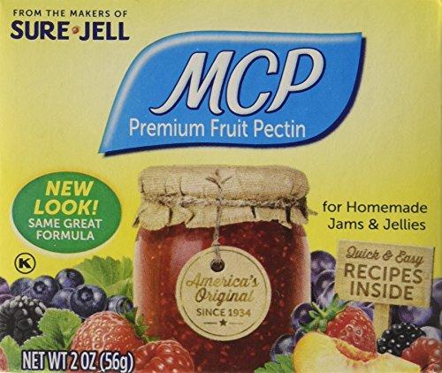 Sure Jell MCP Premium Fruit Pectin, 8 Count, 16 Ounce