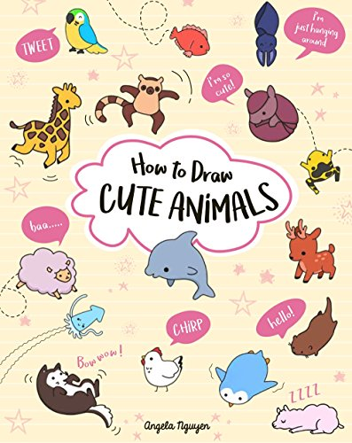 How to Draw Cute Animals Vol. 2 by Angela Nguyen (Paperback)  $7.59 at Amazon