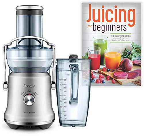 Big Save! Breville BJE530BSS the Juice Fountain Cold Plus Bundle with Juicing for Beginners: The Ess...
