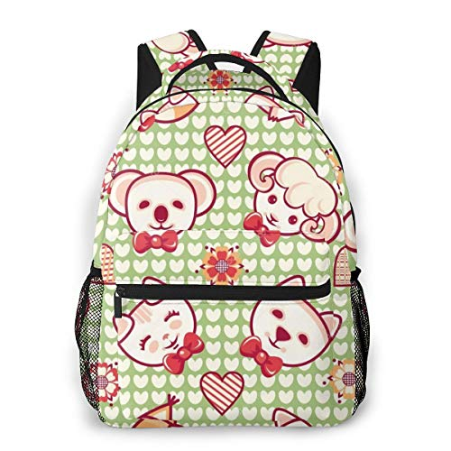 Cool Backpack for Teen Girls Best Blessings School Book Bags Travel Casual Laptop Daypack for Men Women