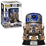 Funko 49810 Pop Star Wars-Dagobah R2-D2 Juguete Coleccionable, Multicolor