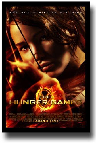 Pôster da Hunger Games – Promo Flyer 2012 Filme – 11 X 17 – Jennifer Lawrence – FireBow Margin