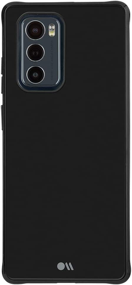 Case-Mate - Tough Plus - Case for LG Wing (5G) - 15 ft Drop Protection - Micropel - Black