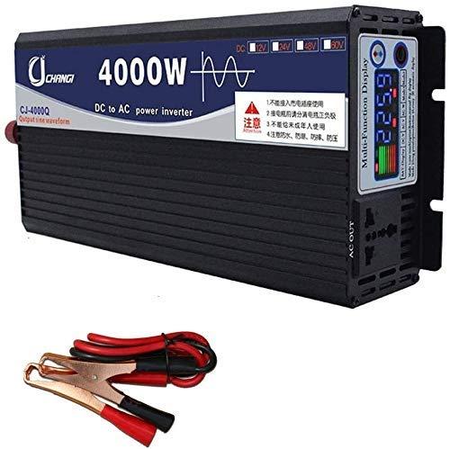 3000W de potencia del inversor de onda sinusoidal pura inversor de la CC 48V / 60V a 220V AC Power Inverter de alta eficiencia de alimentación de CC Inversores for teléfonos inteligentes de la tableta