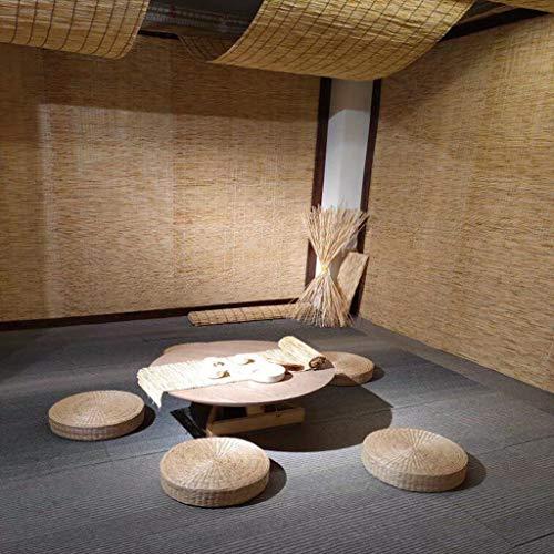 SUNSHADE Sichtschutz Schilfrohr,Roll-up Reed Shades im Freien Bambus Raffrollo Datenschutzbildschirm für Veranda Patio Pergola Pavillon
