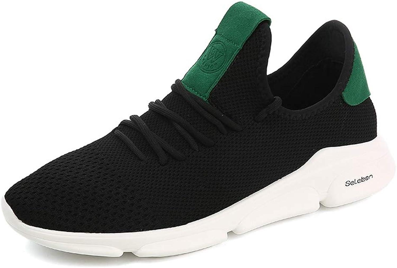 Qiusa Mens Light Light Casual Laufschuhe Durable Nicht Beleg Breathable Comfort Schuhe (Farbe   Schwarz, Größe   EU 41)  Marken online billig verkaufen